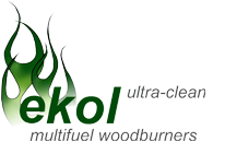 Ultra clean burning stoves from Ekol Stoves Ltd