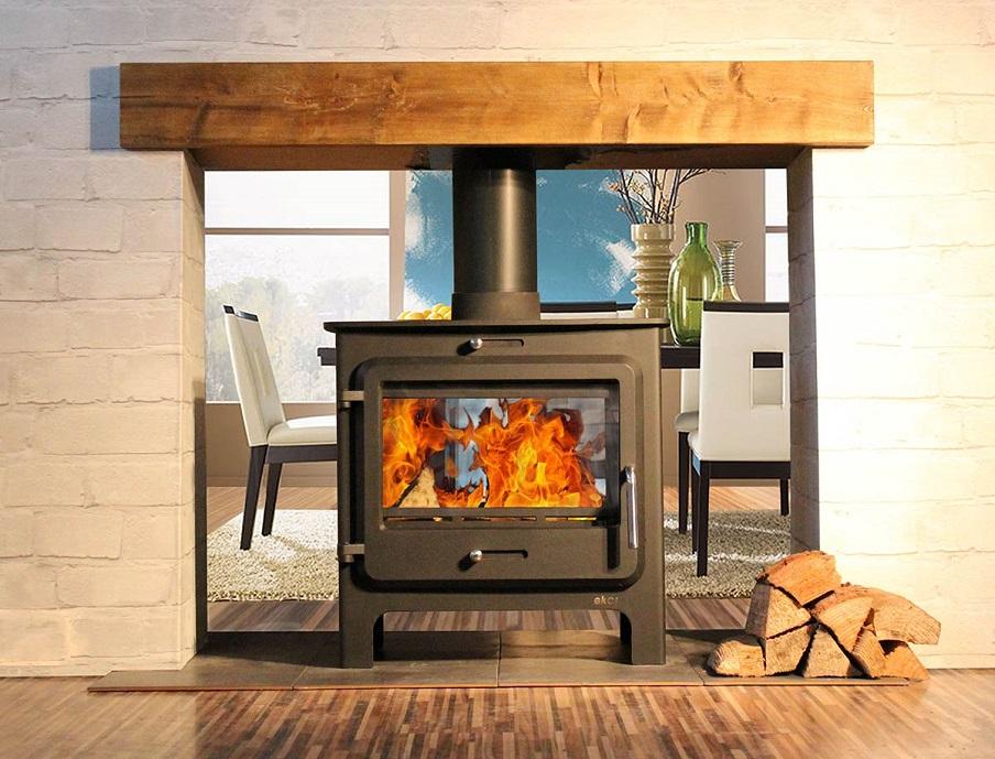 ekol clarity ds stove defra approved exempt stove. Black Bedroom Furniture Sets. Home Design Ideas