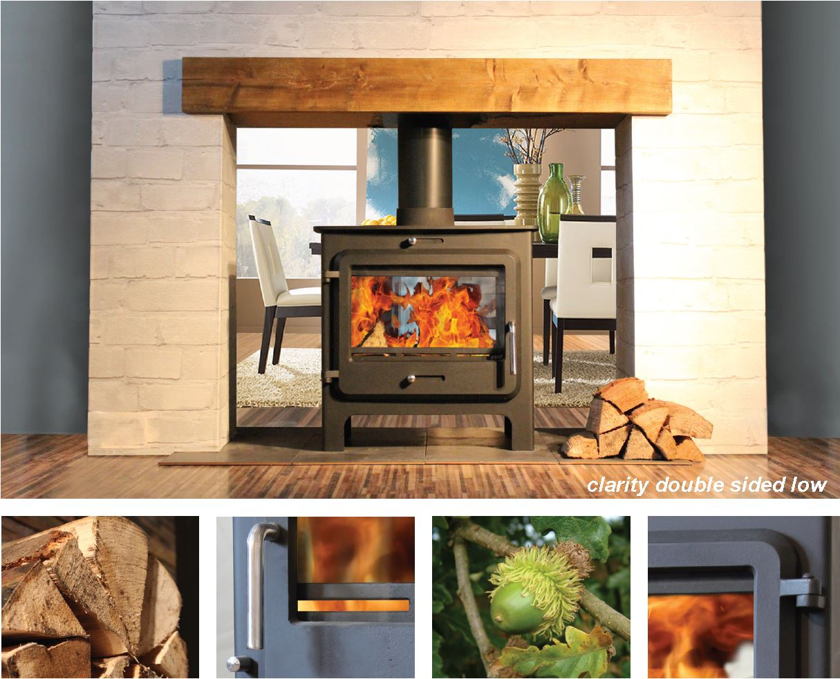 Ekol Clarity DS Stove DEFRA Approved Exempt